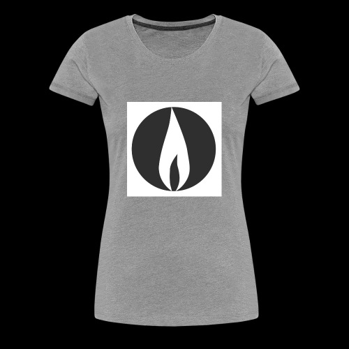 The Sanctuaries Logo - Women's Premium T-Shirt