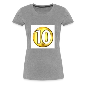10 subscriber hodie - Women's Premium T-Shirt