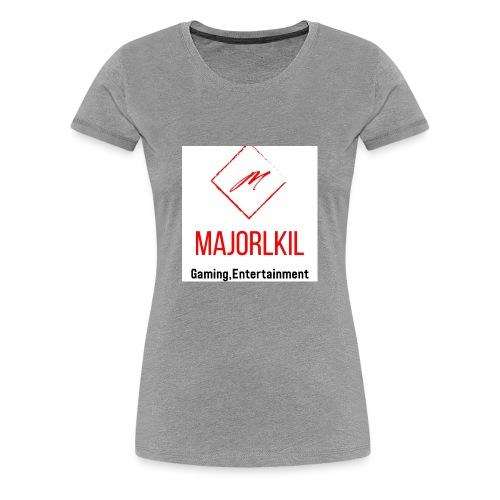 MajorLkil Channel Logo - Women's Premium T-Shirt