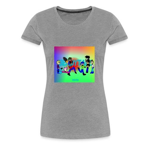 Bendytale phone case - Women's Premium T-Shirt