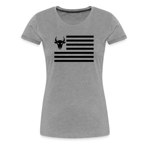 PivotBoss Flag Black - Women's Premium T-Shirt