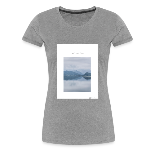 Reflection - Women's Premium T-Shirt
