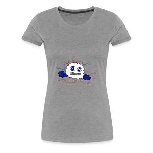 Let it go cloud - Women's Premium T-Shirt