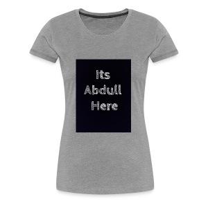 Abdull - Women's Premium T-Shirt