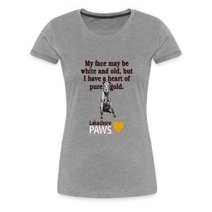 Adopt-A-Senior Dog! - Women's Premium T-Shirt