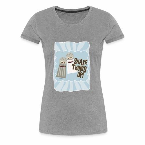 Salt and Pepper Shake Things Up - Women's Premium T-Shirt