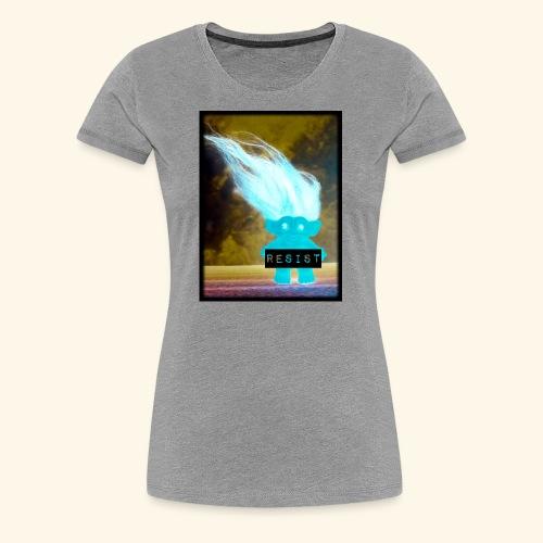 Introverted RESIST troll - Women's Premium T-Shirt
