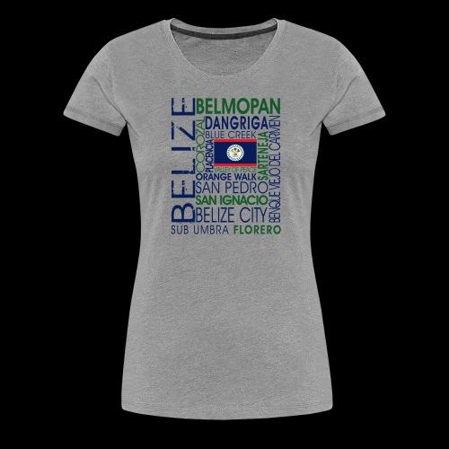 OC BELIZE - Women's Premium T-Shirt