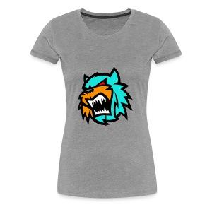 Bob cat logo Neutron - Women's Premium T-Shirt