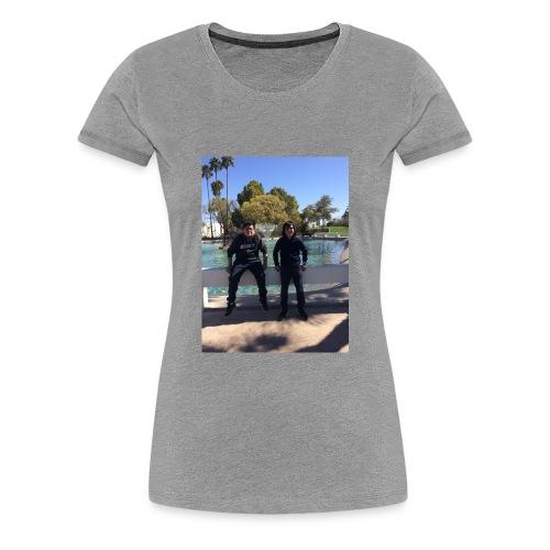 DDA457CA 8017 416C A815 78B1C1CBDFBF - Women's Premium T-Shirt