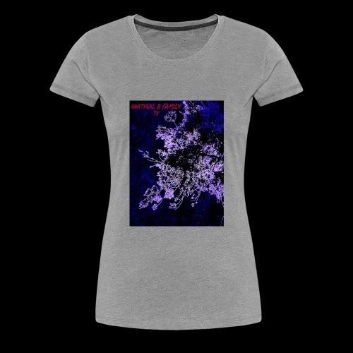 GOATYGAL & FAMILY TV - Women's Premium T-Shirt