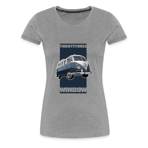 TWENTYTHREE WINDOW - Women's Premium T-Shirt