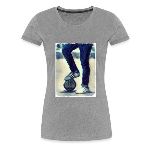 Football Freaks - Women's Premium T-Shirt