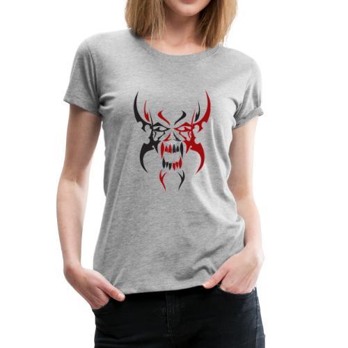 Skull Tattoo Tribe - Women's Premium T-Shirt