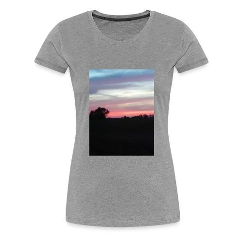 Country sunset - Women's Premium T-Shirt