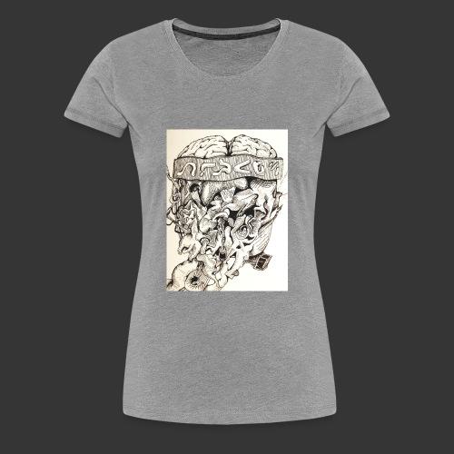 Brain Malfunction - Women's Premium T-Shirt