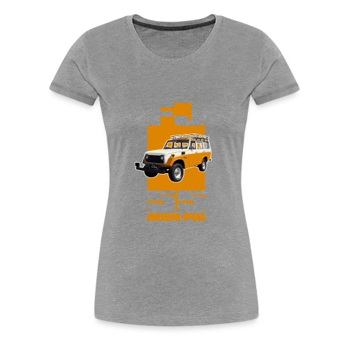 YELLOW FJ55 IRON PIG - Women's Premium T-Shirt