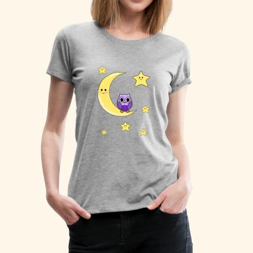 cute owl - Women's Premium T-Shirt