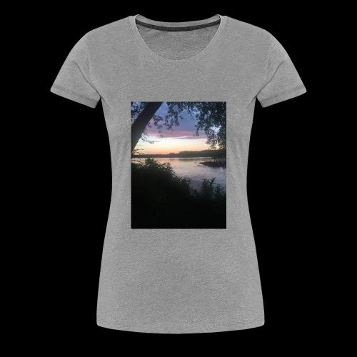 Lake - Women's Premium T-Shirt