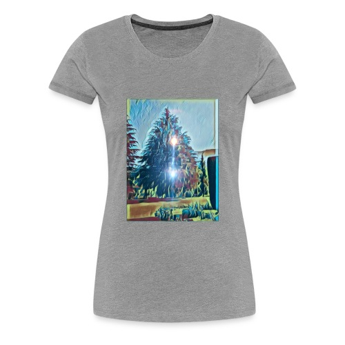 Save the present for better future - Women's Premium T-Shirt