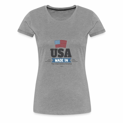 America USA - Women's Premium T-Shirt