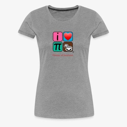 color with text - Women's Premium T-Shirt