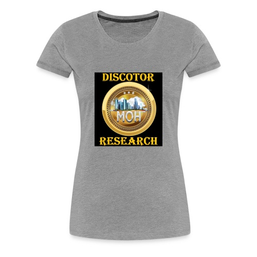 Discotor Research - Women's Premium T-Shirt
