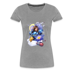 Justice Rains From Above! - Women's Premium T-Shirt