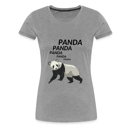 Panda Panda Panda - Women's Premium T-Shirt