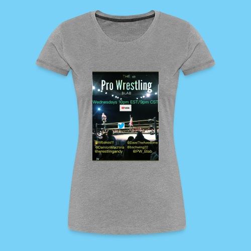 PW_Blab Show grapic - Women's Premium T-Shirt