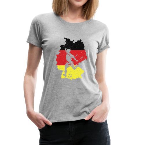 Germany football team shirt - Women's Premium T-Shirt