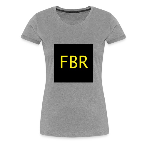 FBR merchandise - Women's Premium T-Shirt