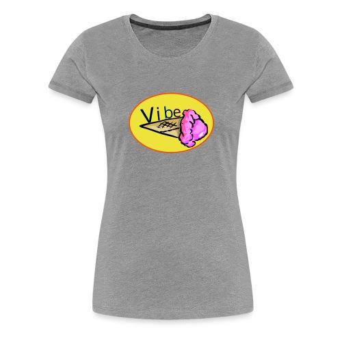 vibe logo tee - Women's Premium T-Shirt