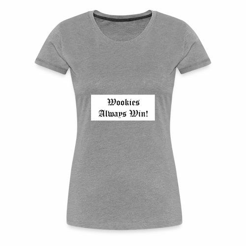 Wookie - Women's Premium T-Shirt