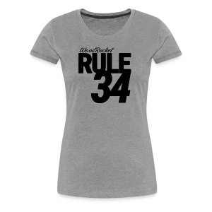 Rule 34 - Women's Premium T-Shirt