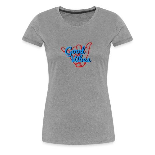 Good Vibes Tee - Women's Premium T-Shirt