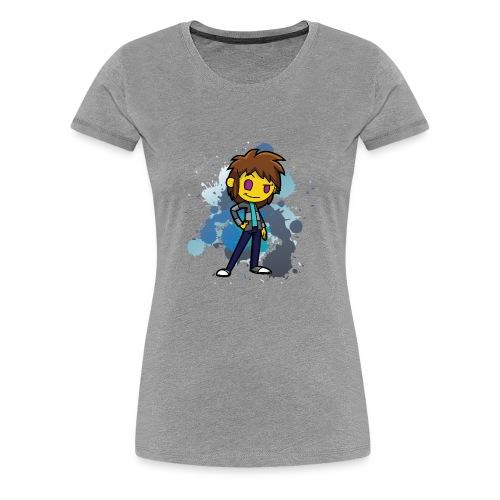 Darkar Paint Blue - Women's Premium T-Shirt