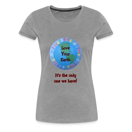 Earth Day - Women's Premium T-Shirt