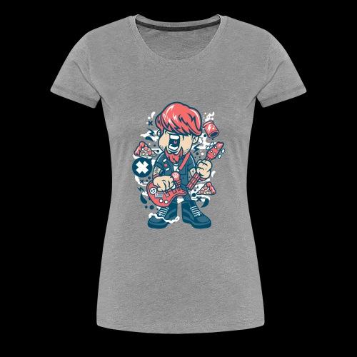 Rock man - Women's Premium T-Shirt