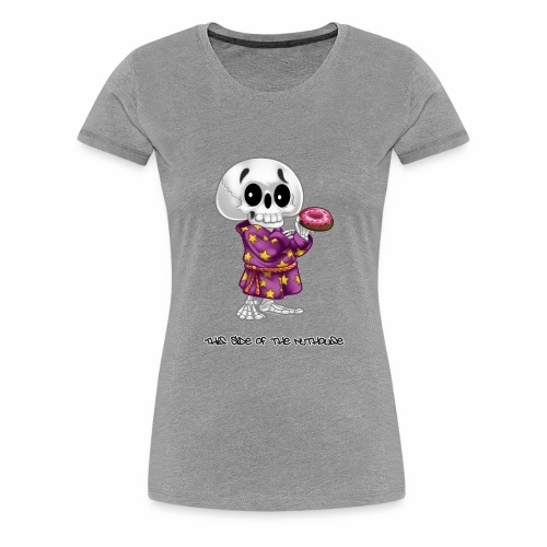 Lichs Love Donuts - This Side of the Nuthouse - Women's Premium T-Shirt