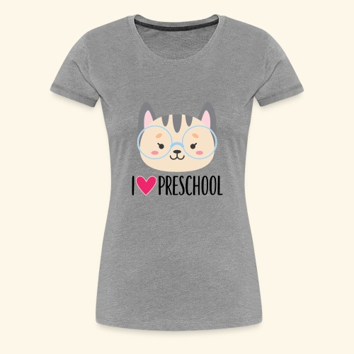 Preschool 1st Day of School - Women's Premium T-Shirt