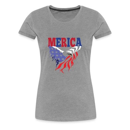 MERICA 4th of july t shirts old navy TSHIRT - Women's Premium T-Shirt