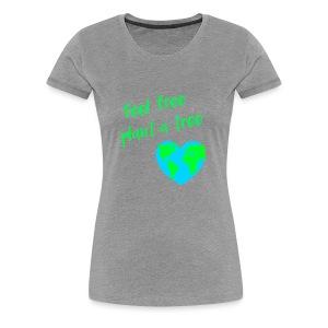 LOVE WORLD PLANET MOTHER EARTH HERAT - Women's Premium T-Shirt