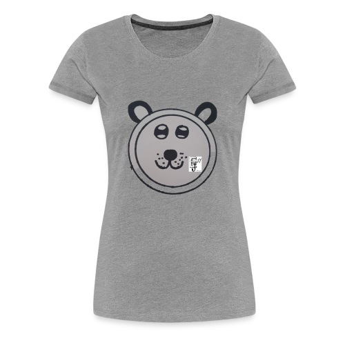 Hidden Panda - Women's Premium T-Shirt