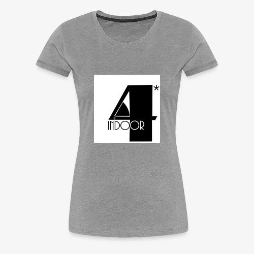 The INDOOR4 - Women's Premium T-Shirt