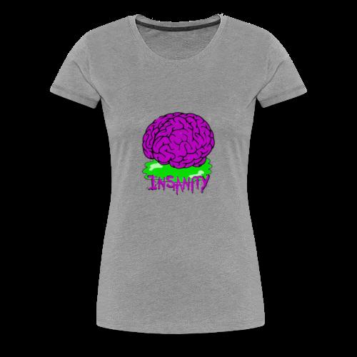 Insanity Servers Logo - Women's Premium T-Shirt