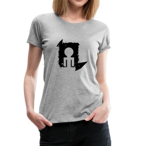 Black World - Women's Premium T-Shirt