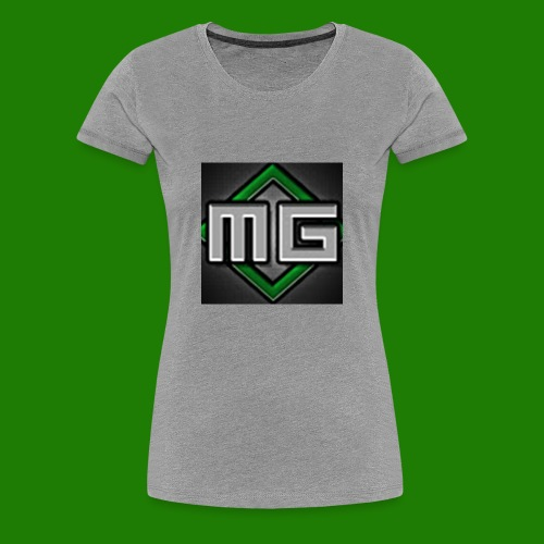 MrGreenGaming Logo Phone Cases - Women's Premium T-Shirt