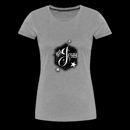 GilJayy Badge (White) - Women's Premium T-Shirt
