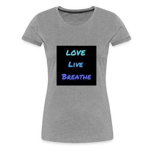 The Day Shift Academy Blue LLB Design - Women's Premium T-Shirt